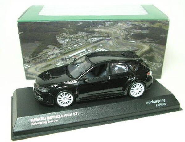 Subaru Subaru Subaru Impreza WRX STI nurburgring test car (negro) ecade0