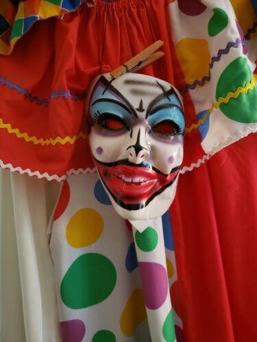 Adult clown costume used