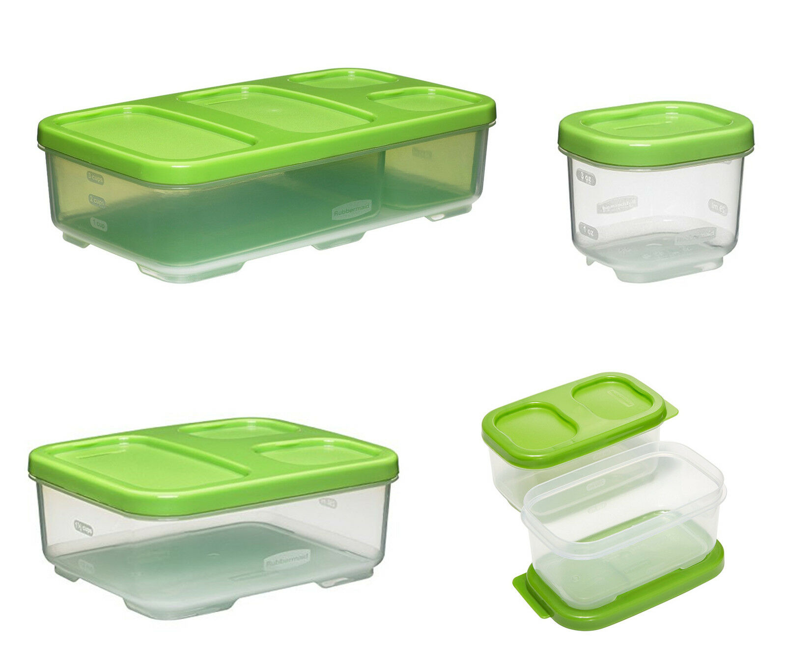 Rubbermaid Lunchblox Kids Food Containers 12 Sizes Ebay