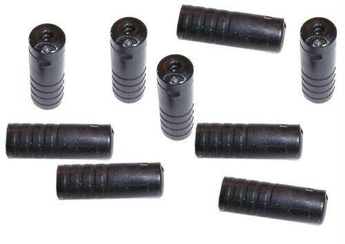 10 pcs Shimano SP40 Sealed SIS Housing Ferrules Caps 4 ID//6 OD Black