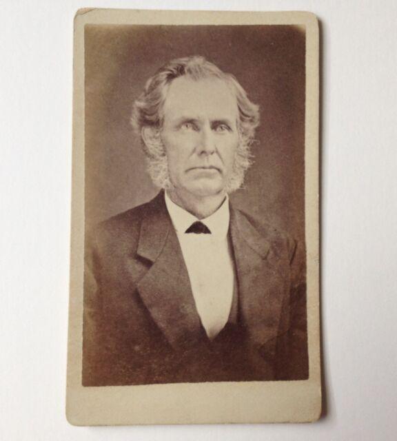 CDV Antique Photo Susquehanna PA Harding Man Vintage Carte de Visite Photograph