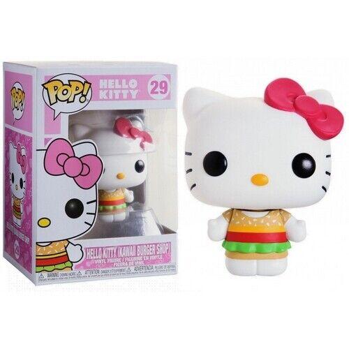 FUNKO POP Hello Kitty Series 29: Hello Kitty VINYL POP FIGURE Kawaii Burger