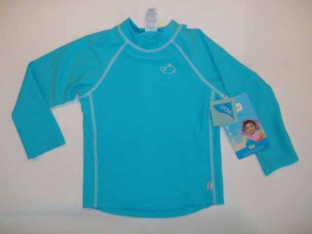 i play 4T by green sprouts Baby Toddler Boys Rashguard Aqua