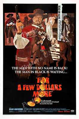 Posters USA A Fistfull of Dollars Clint Eastwood Movie Poster Glossy FIL066