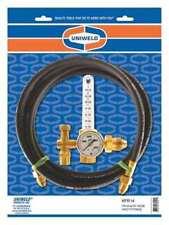 Uniweld Kfr14 Gas Calibration Flowmeter Regulator Single Stage Cga 580 10 To