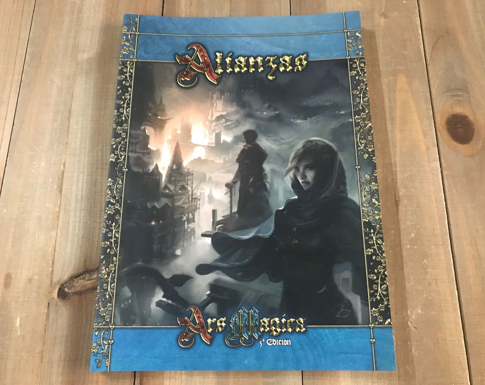 ARS MAGICA 5 Edición - Alianzas - juego de rol - Holocubierta