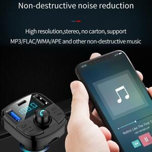 The Early Grades Are Key To Equalizing >> Details About Bt29 Bluetooth Lcd Car Usb Charger Fm Transmitter Wireless Adapter Mp3 Player