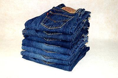 100% Vero Levis 501 Jeans Originale W30 W31 W32 W33 W34 W36 W38 Authentic Levi 501s-mostra Il Titolo Originale