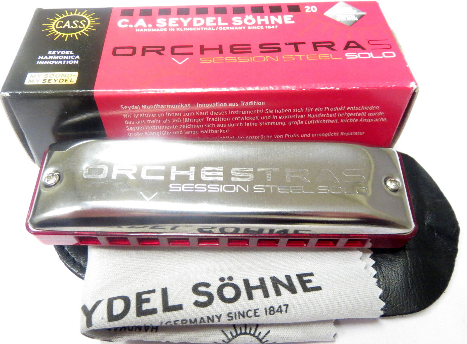 Harmonica Seydel Orchestra S (Session Steel Solo)
