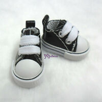 "Mimi Collection 12"" Neo Blythe Pullip Doll PU Leather MICRO Shoes Sneaker BLACK"