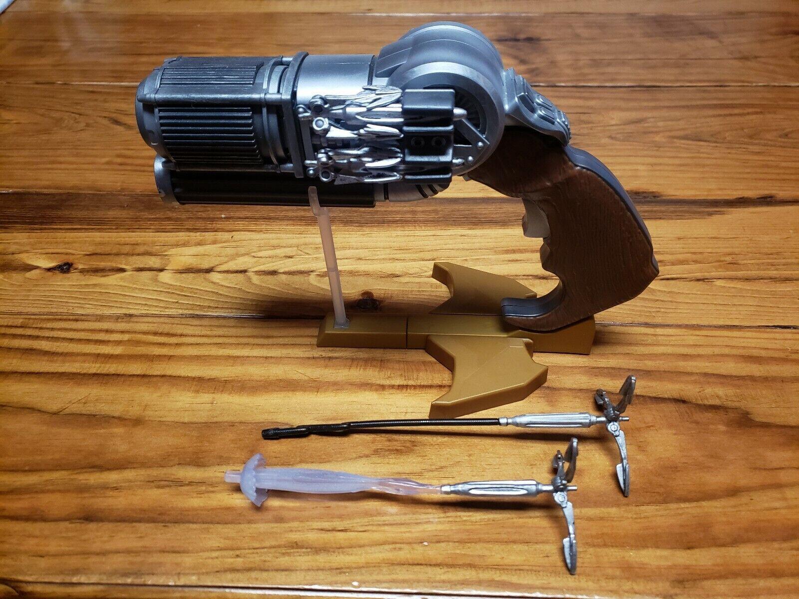 DC Multipass BAF Komplett CnC Grannel Blaster w  Lägg till Ons Exklusiva C&C Batman