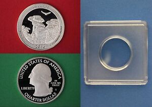 2012 S Proof John Kennedy Half Dollar With 2x2 Case DCam Clad Combined Shipping