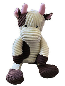 Teddy Bear Stuffed Toy, Kordy Brown And Cream Corduroy Cow 18 By Unipak Ebay
