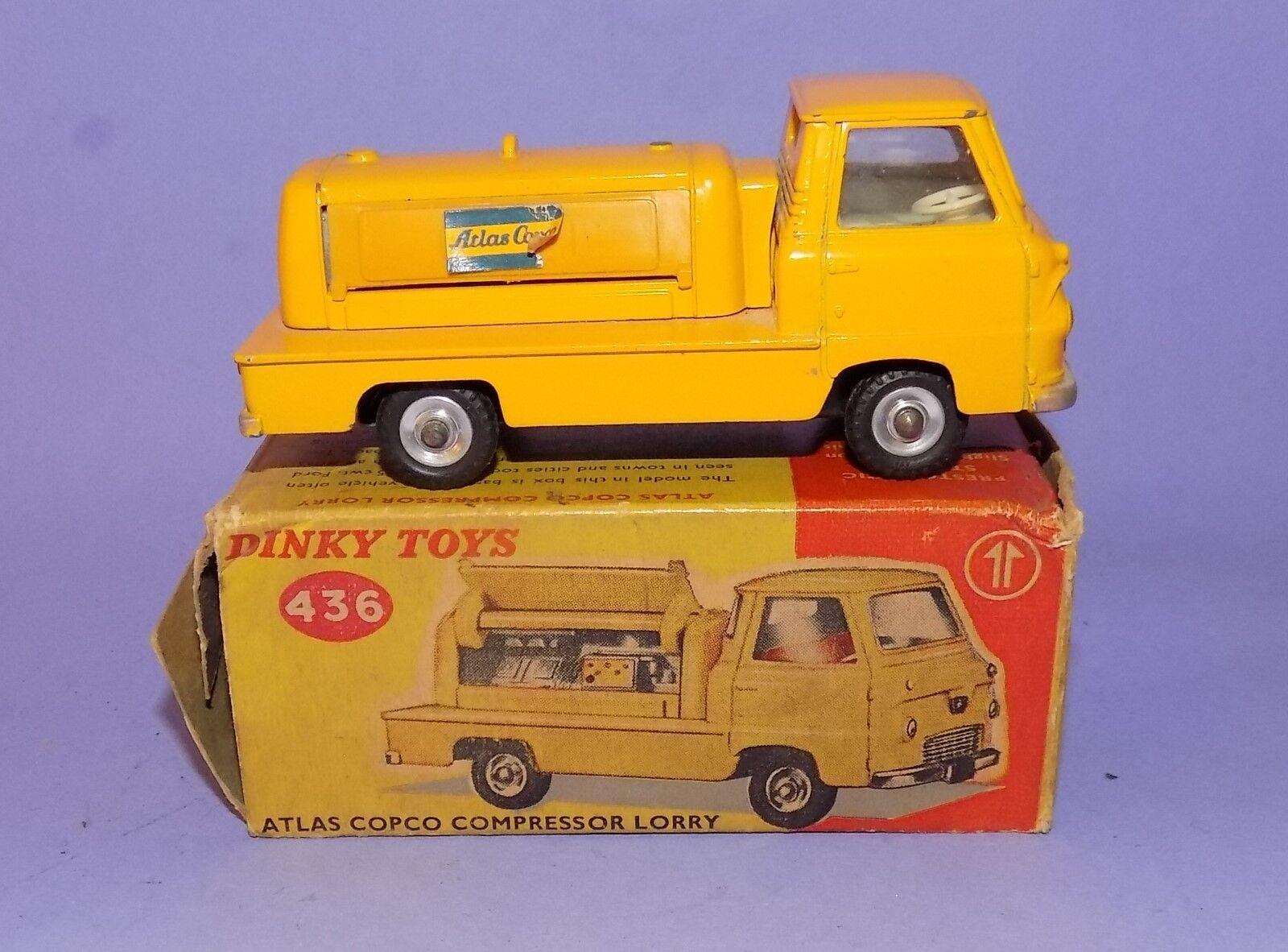 vintage 1963 - 1969  Dinky Toys  No 436  ATLAS COPCO Compresseur Camion