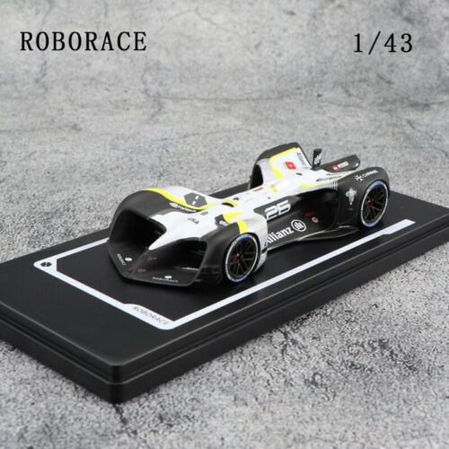 1//43 ROBORACE ROBOT ON BOARD RESIN CAR MODEL COLLECTION DISPLAY