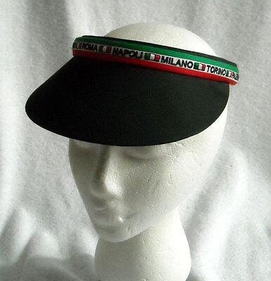 Women 39 s embroidered sun visor hat roma palermo napoli for Banana republic torino