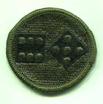 US Army 11th Corps OD Subdued Patch
