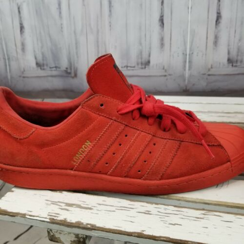 London Triple 12 Suede City Skateboard Hommes Sneakers Rouge Adidas Skater 2015 Chaussures trQxsdCh