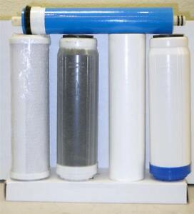 5stage Replacement filters Membrane Aquarium Reverse Osmosis Water System 100gpd