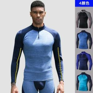 New Men's Training/Sport/Fitness Tights Quick-Drying PRO Tops GYM Tee T-shirts