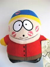 "South Park 2007 CARTMAN KISSES 7"" plush doll toy figure by Hunter Leisure AU NWT"