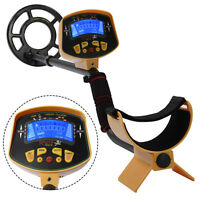 Md-3010ii Metal Detector Deep Sensitive Gold Digger Light Hunter Lcd Display