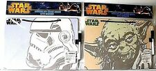 2 STAR WARS HANGING DRY ERASE BOARDS>>NEW IN PACKAGE>> FREE U.S. SHIPPING