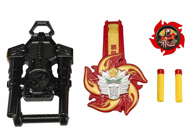 POWER RANGERS SUPER NINJA STEEL LION FIRE FIRE FIRE MORPHER DX BATTLE GEAR 2018 43904 60d3e5