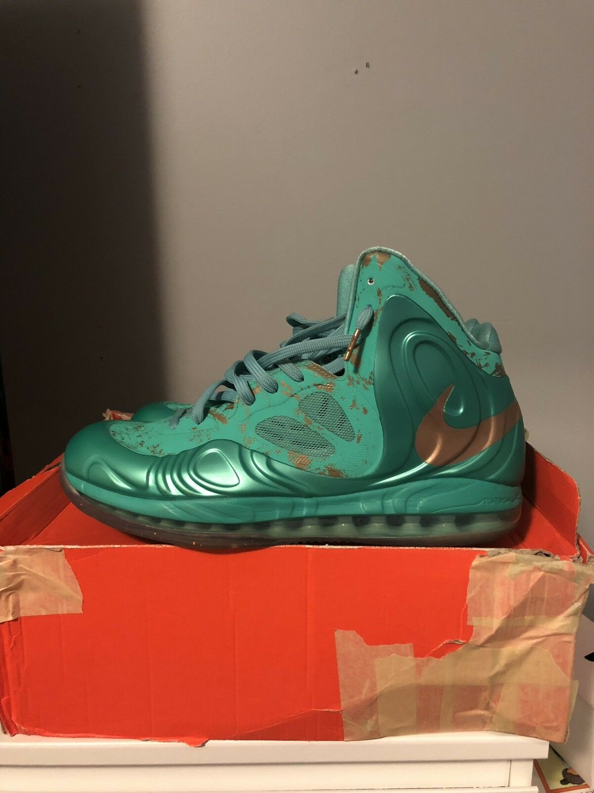 """Nike Air Max Hyperposite """"Statue Of Liberty"""" 2012"""