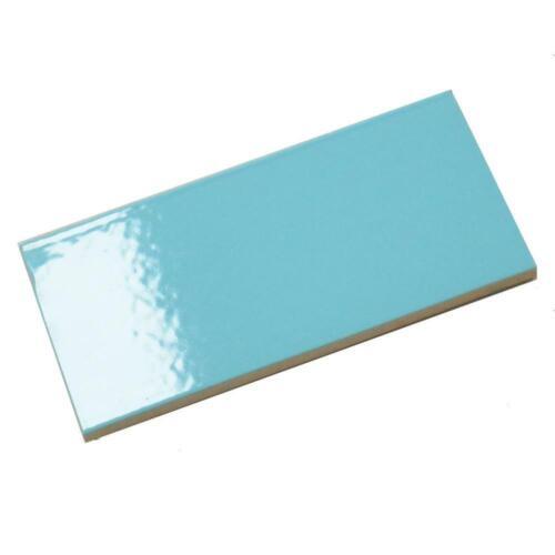 Ersatzfliese Boden Spaltplatte Annawerk E2156 hell blau glänzend 12 x 24 cm
