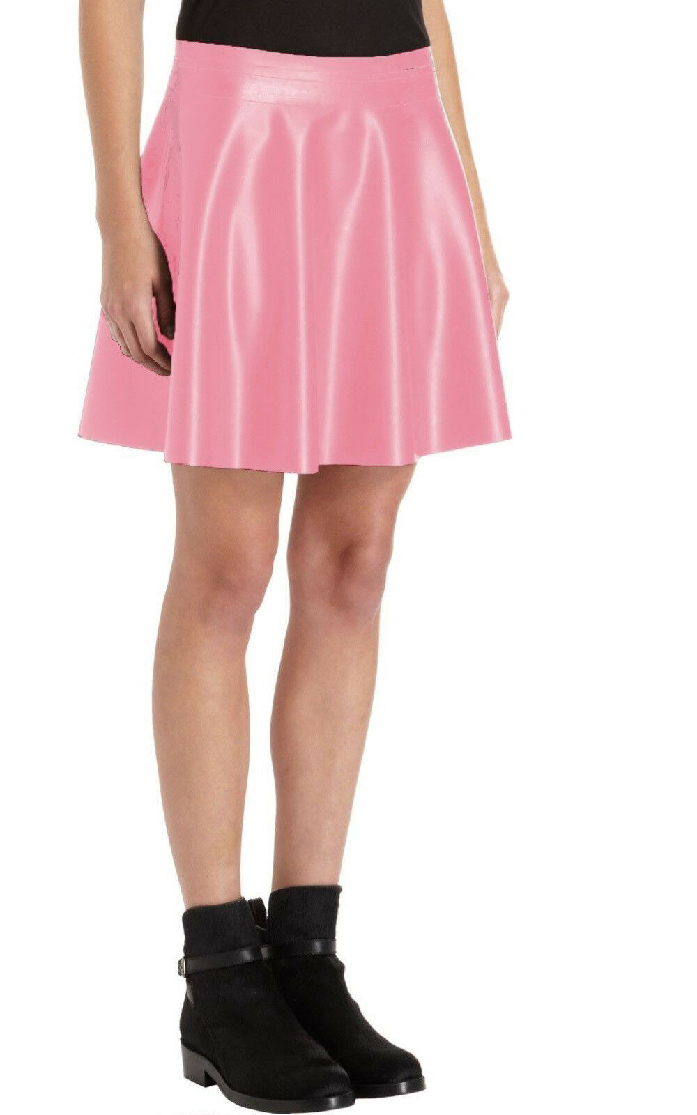 Opening Ceremony Pink Spandex Mini Skirt  - Medium Large