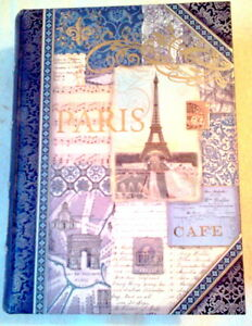 PARIS-BOOK-CARDBOARD-SECRET-STOW-FOR-TREASURES-GIFT-BOX