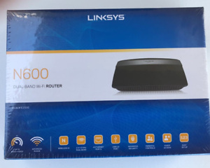 Details about Linksys N600 Dual Band WiFi Router 4 Ethernet Ports Advanced  Security E2500