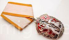 RUSSIAN SOVIET Silver Order medal Badge of Honour USSR #546260