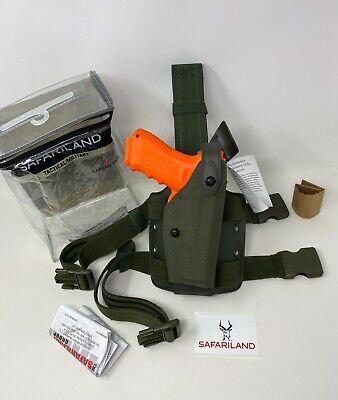 Safariland® 6004USN SLS Tactical Cordura® Ranger Green Holster GLOCK 17 19 22 23