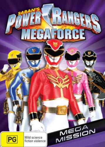 1 of 1 - Power Rangers: Megaforce  - DVD - NEW Region 4