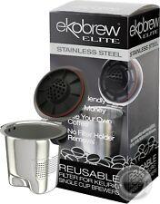 Ekobrew Elite K-Cup Filter for Keurig 2.0 & 1.0 Brewers Stainless Steel