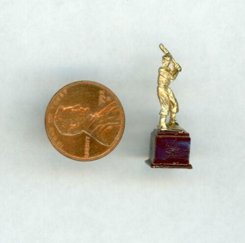 Miniature Dollhouse Mens Baseball Trophy ISL 441-1
