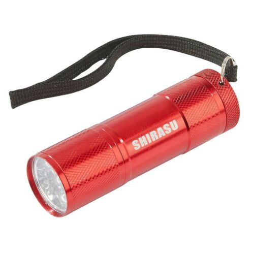 Balzer Shirasu UV Lampe Aluminium Lampe de poche 9 Noir Lumière DEL