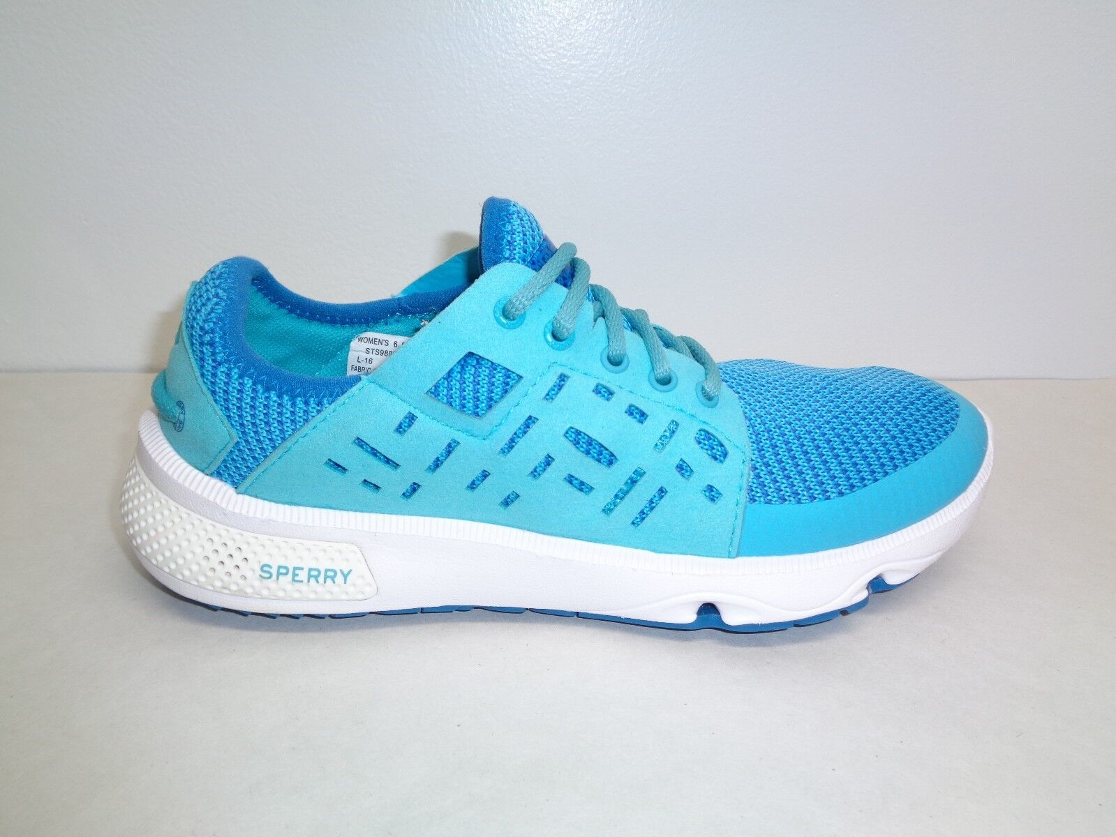 Sperry Size 6.5 M 7 SEAS SPORT bluee Water New New New Womens Lace Boat shoes Sneakers 756253
