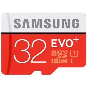 Samsung-EVO-Plus-32-GB-micro-SD-SDHC-95MB-s-Class-10-U1-TF-Memory-Card-FHD-32G