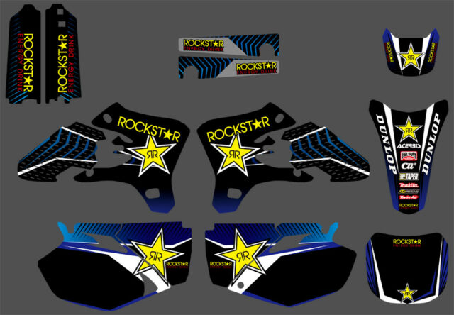 RED WHITE YAMAHA YZF 250-450 2006-2009 DECAL STICKER GRAPHIC KIT
