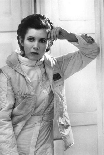 "003 Carrie Fisher Princess Leia Organa Star War USA Actor 14/""x20/"" Poster"