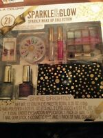 L.a. Colors 21 Pc -sparkly Make Up Collection In Box Free Shipping (usa)