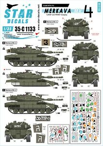 Star-Decals-1-35-Merkava-Mk-4-039-Lahav-039-and-039-Rhino-039-company-35c1133