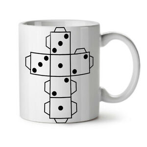 Details About Dice Game Paper New White Tea Coffee Mug 11 Oz Wellcoda