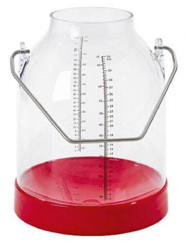 standard Kerbl 151050 Melkeimer rot Bügelhöhe 143 mm Eimer
