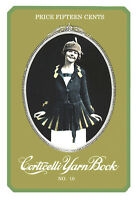 Corticelli 10 C.1919 Wwi Era Book Of Knitting & Crochet Vintage Patterns