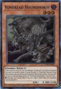 Vendread Houndhorde - COTD-ENSP1 - Ultra Rare - Limited Edition x1 - Near Mint