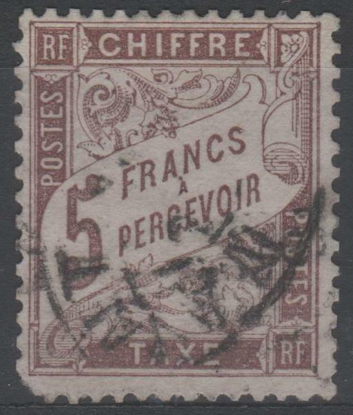 FRANCE STAMP TIMBRE TAXE N° 27